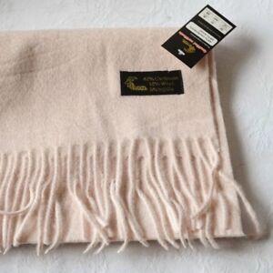 4d6f5cae2ace echarpe laine cachemire 40% rose poudre - champagne rosée foulard ...