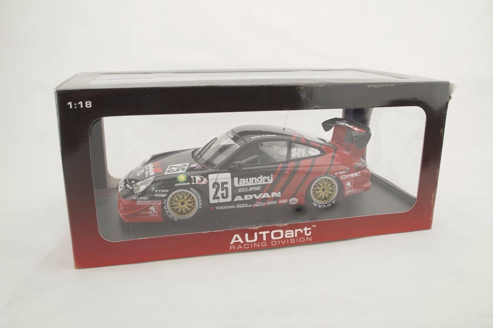 1:18 Autoart Porsche 911  996  GT3 Super Taikyu 2005  25 - Rarità Inserimento