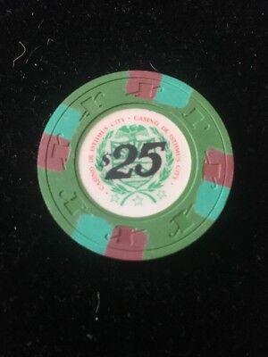 RARE Inlay Paulson Casino De Isthmus Chips James Bond