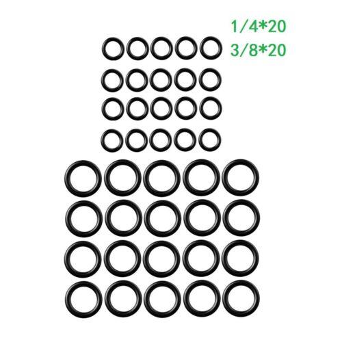 40 PCS Hoch Hochdruckreiniger O-Ring 1//4 M22 3//8 Schnellverbinder Dichtringe ED
