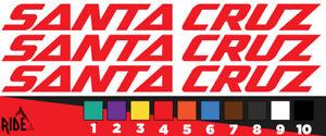 Santa Cruz Style Autocollant Decal Sets-Bronson Nomad 5010 Hightower-Imitation