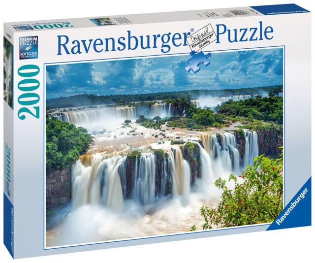 16607 Ravensburger Iguazu Waterfall Jigsaw 2000 Pieces Puzzle 98x75cm 12+
