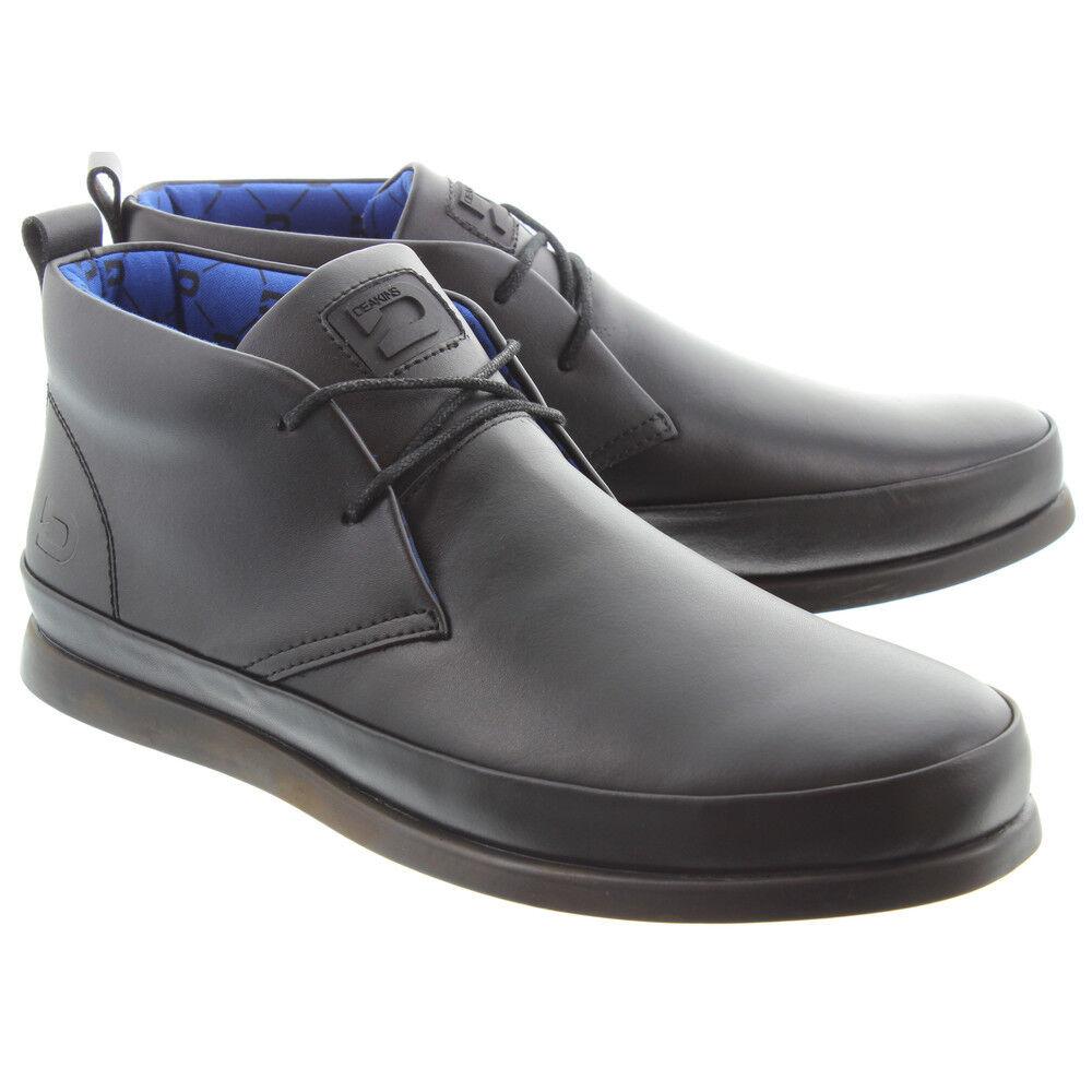 Schule für Schuhe Leder schwarzes Rufus Jungen Herren
