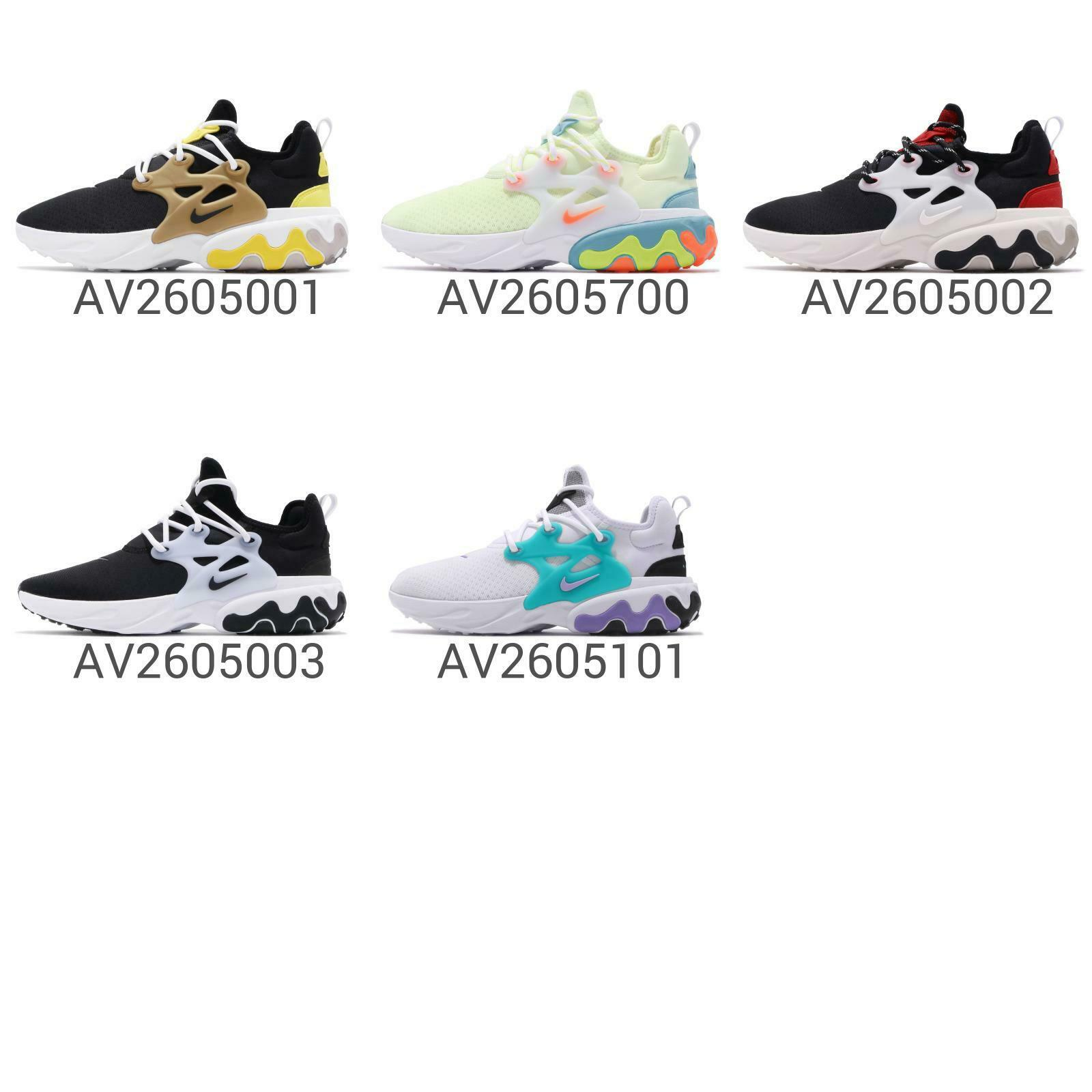 Nike React Presto Men Running schuhe Turnschuhe Trainer 2019 Pick 1