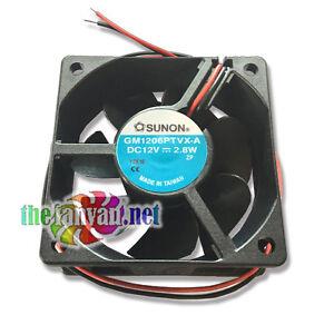 SUNON-GM1206PTVX-A-60mm-x-25mm-High-Speed-12v-Multi-Purpose-Fan-11-034-Tinned-Leads