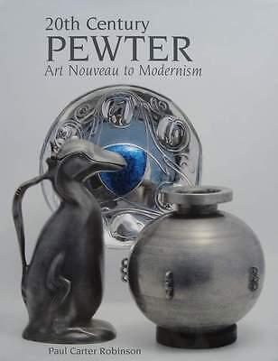Mode Stijl Boek/livre : Pewter - Art Nouveau To Modernisme (art Deco,christofle,wmf,étain Van Het Grootste Gemak