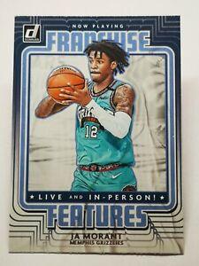 Panini Donruss 2020-21 N4 card NBA Franchise Features JA Morant #15