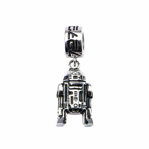 Star Wars 3D R2-D2 Dangle 925 Sterling Silver Charm