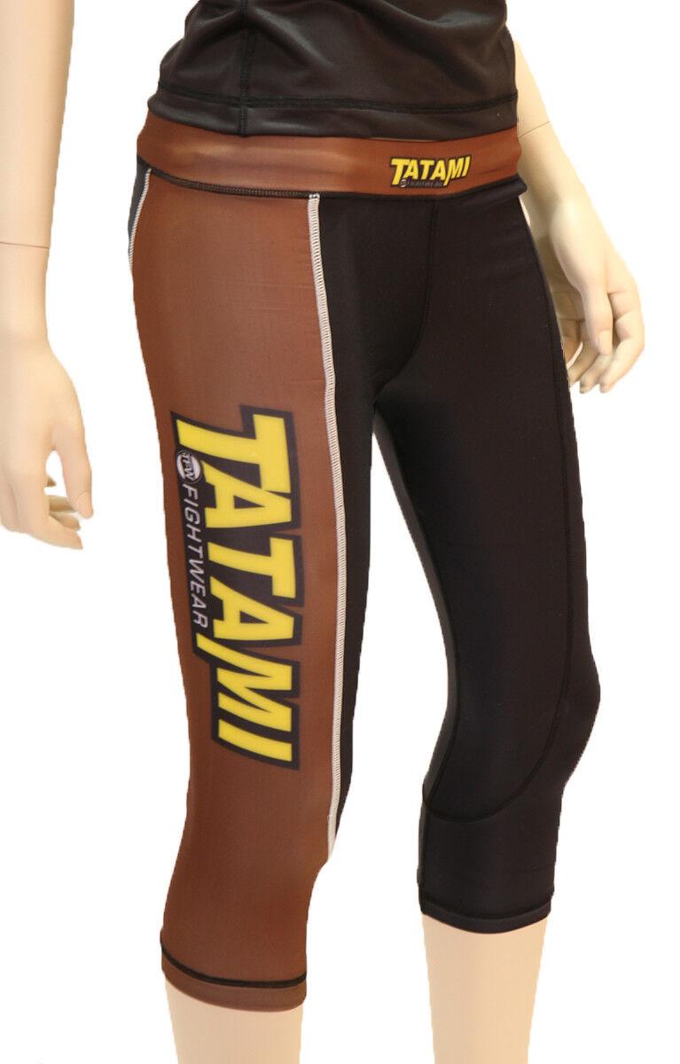 Tatami Fightwear Ladies IBJJF Grappling Tights - Brown