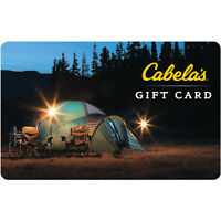 $50 Cabelas Gift Card For Only