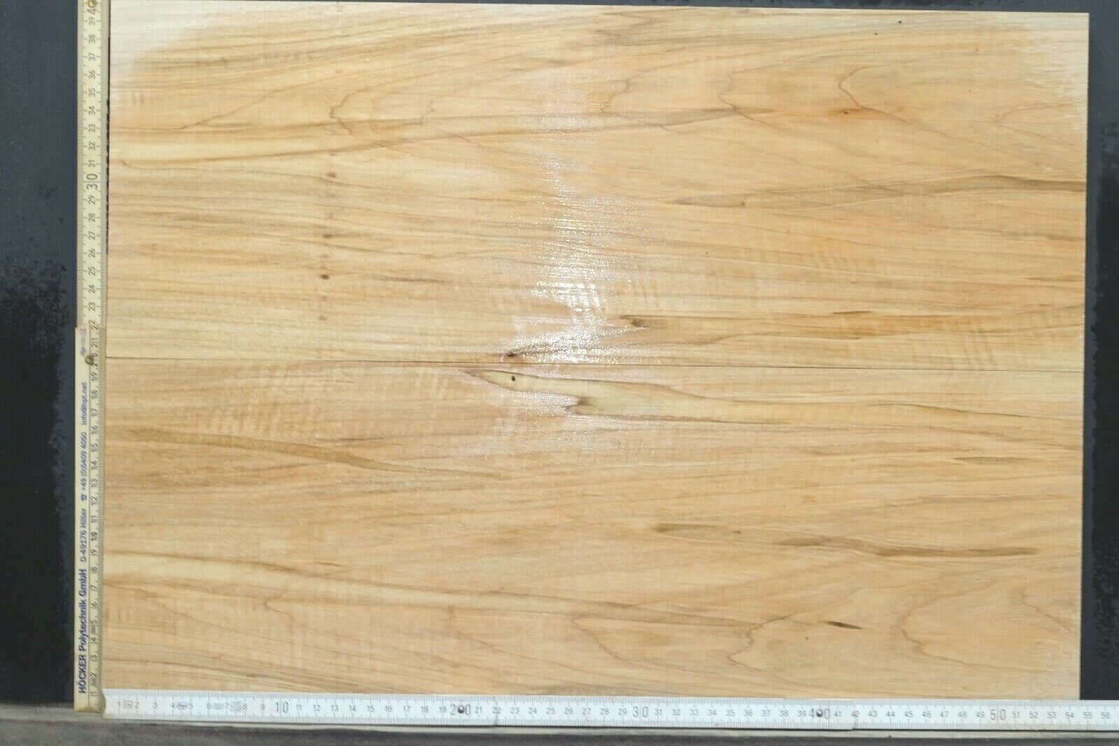 Tonewood Ambrosia Maple Bookmatched 0 19 32in Top Set Guitar Dropptop 074