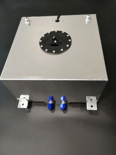 13 Gallon Aluminum Fuel Cell 50L Litre Fuel Tank Sender /& Internal Foam Layer