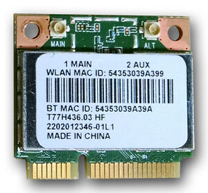 Gateway NV570P Broadcom WLAN Drivers Mac