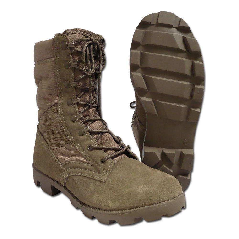 Jungle Stiefel Import Stiefel Herrenstiefel Outdoor Wanderschuhe Wildleder coyote    | Stabile Qualität