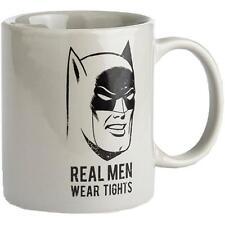 Batman - Real Men Wear Tights Coffee / Tea Mug - New & Official DC Comics In Box