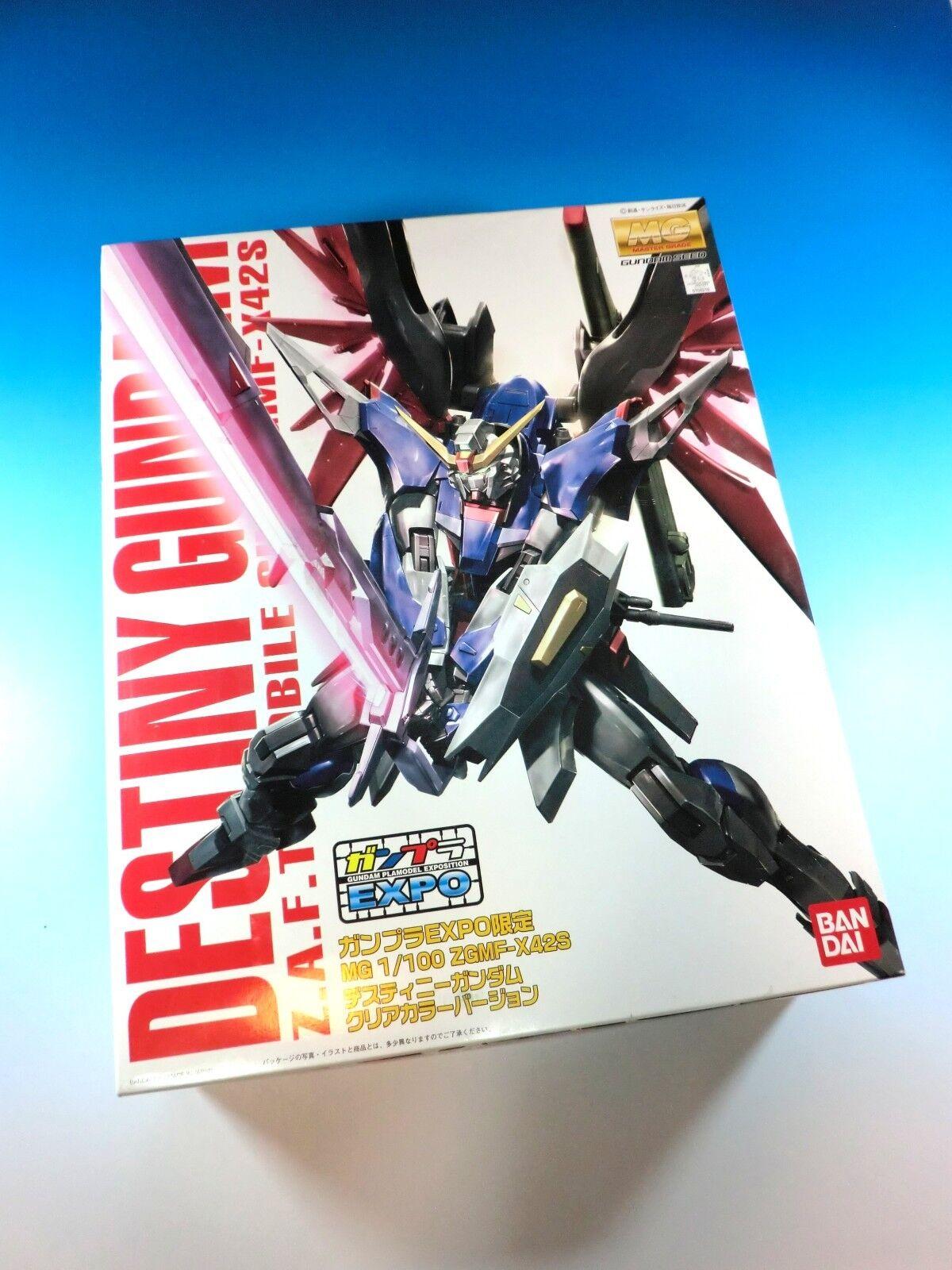 Gundam EXPO-limited MG 1 100 ZGMF-X42S Destiny Gundam Model Kits