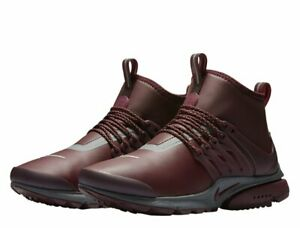 Details about Nike W Air Presto mid Utility Women's Sneakers Purple 859527 600 Shoes New Gr35,