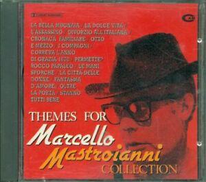 Themes-For-Marcello-Mastroianni-Collection-Morricone-Nino-Rota-Cd-Ottimo