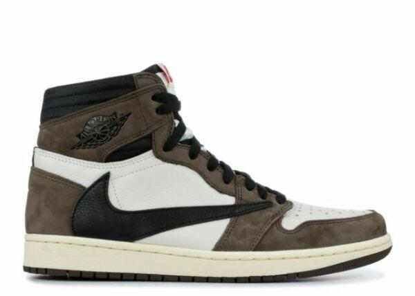 Nike Air Jordan 1 Retro High Travis Scott Basket Shoes - Sail/Black-Dark  Mocha, US 11 (CD4487-100) for sale online   eBay