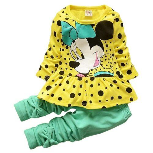 Traje para Niña Conjunto Pantalon y Blusa Deporte Primavera 2019 Ropa de Bebes