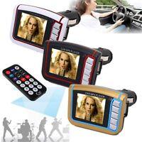 1.8'' LCD Wireless Car Kit FM Transmitter MP3 MP4 Music Player USB SD MMC Remote