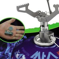 25g Titanium Alloy Outdoor Cooking Burner Folding Gas Stove BRS-3000T 2700W New