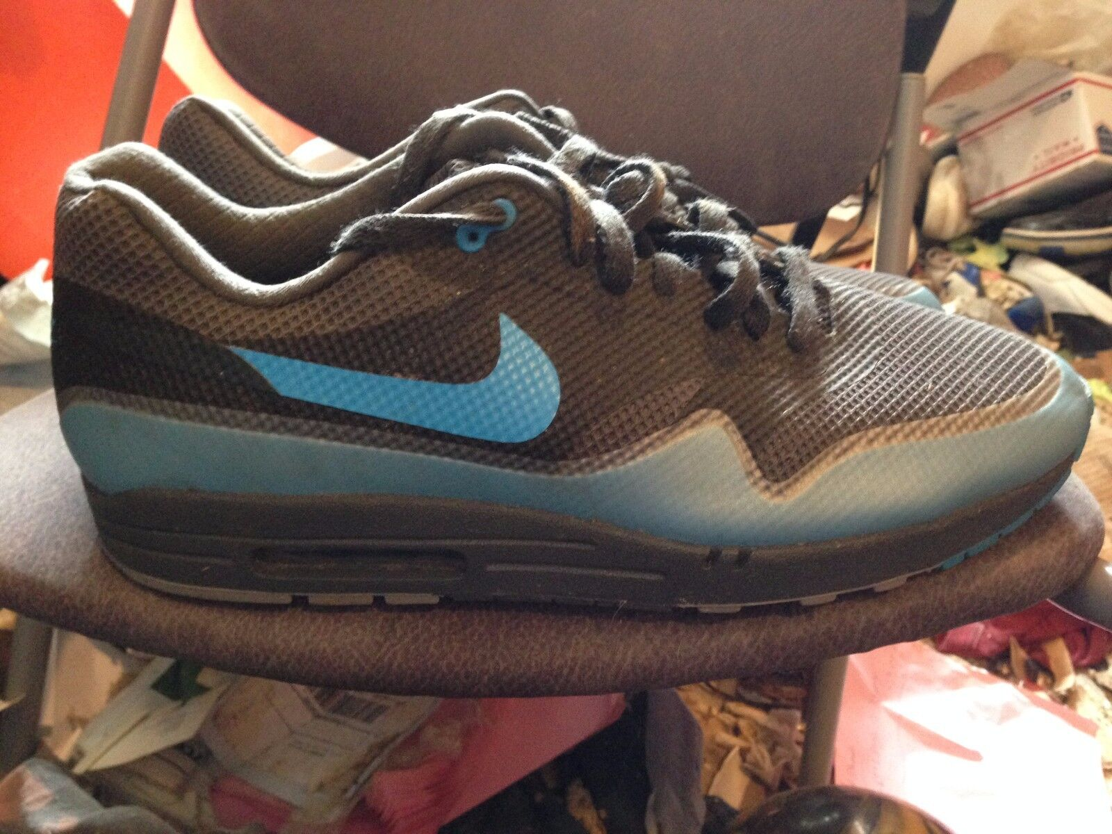 NIKE AIR MAX 1  HYP PRM NEW NO BOX BLUE/FOG SIZE 15 Seasonal price cuts, discount benefits