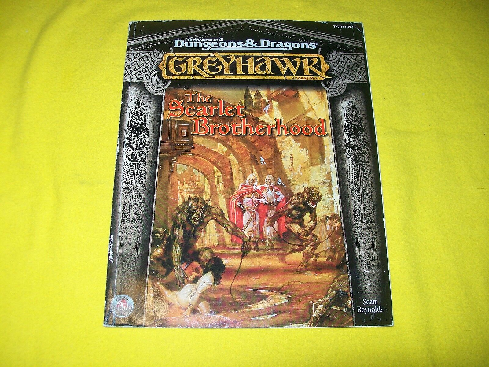 THE SCARLET BROTHERHOOD grauHAWK DUNGEONS & DRAGONS AD&D TSR 11374 - 1 WITH MAP