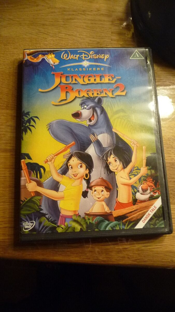 Junglebogen 2, DVD, tegnefilm – dba.dk – Køb og Salg af Nyt og Brugt