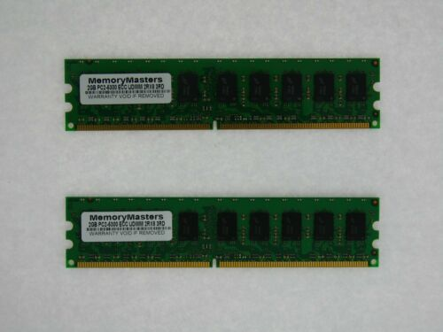 ECC RAM 4GB 2x 2GB FITS Dell Poweredge 830 840 850 860 PC2-5300E DDR2 667 Memory