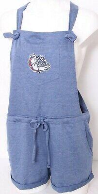 Blue 84 NCAA Gonzaga Bulldogs Adult Women NCAA Womens Dyed Varsity Tee,Medium,Indigo