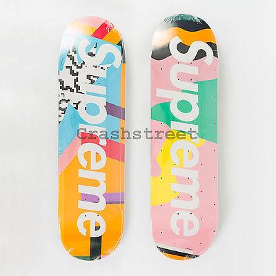 Supreme SS16 Alessandro Mendini Skateboard Deck Skate Collection Set of 2