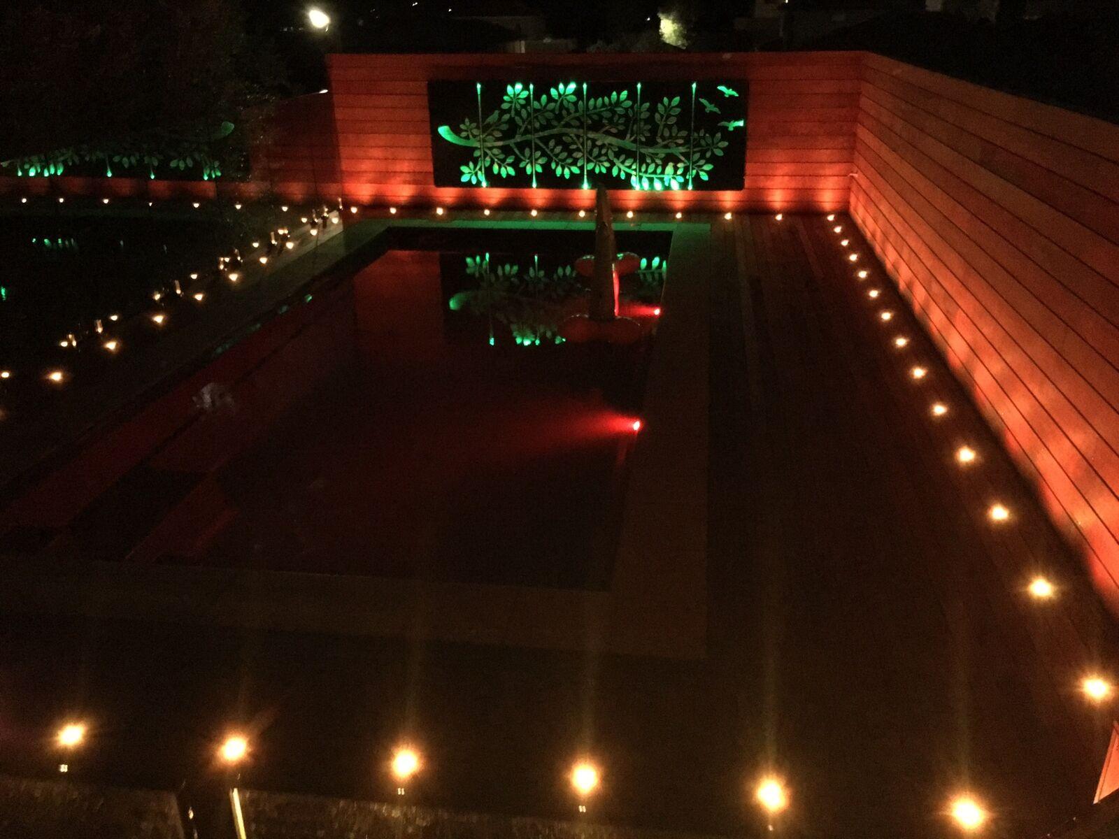 1-20er Set Set Set 45mm RGB LED Bodeneinbaustrahler Einbauleuchte Terrasse Außen Lampe c020e6