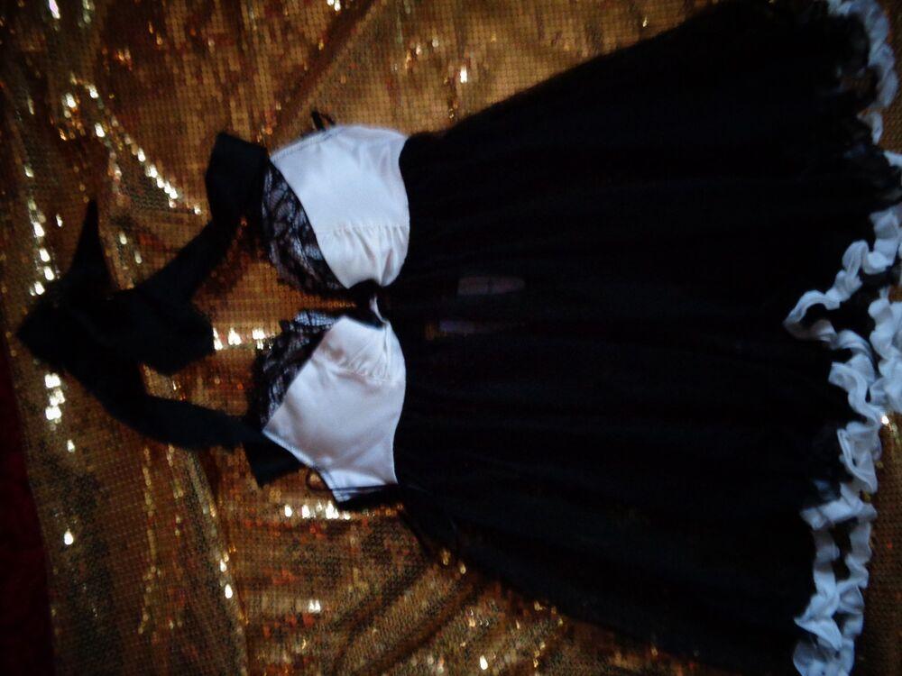 Ann Summers Dos Nu Nuisette Taille 12 * Bow Boudoir * Nouveau Withtags