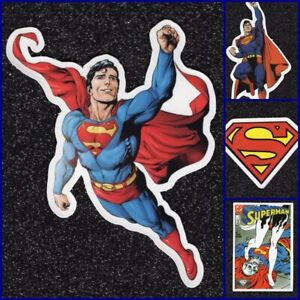 Superman-Vinyl-Sticker-Lot-2-options