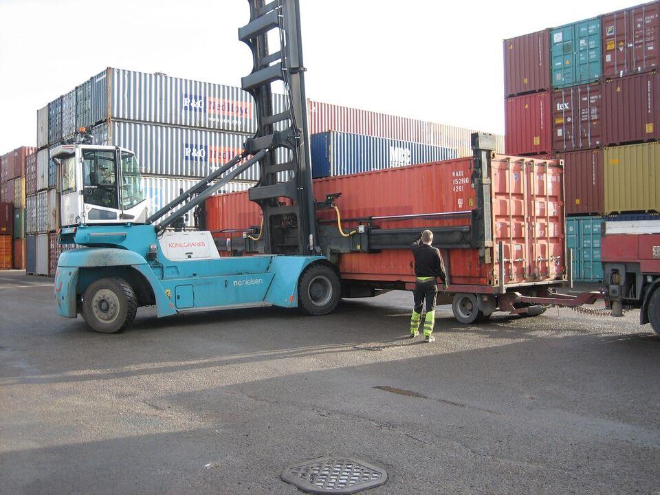 Container  40 fods  skibscontainer   CSC godkendt