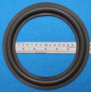 2-x-Schaumstoff-Sicken-fur-Impulse-H1-H2-amp-Ta-039-us-Tieftoner-mit-Kleber