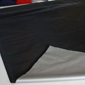 blickdichter verdunklungsstoff meterware gardine verdunklung deko stoff schwarz ebay. Black Bedroom Furniture Sets. Home Design Ideas