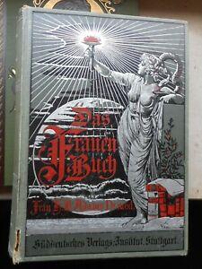 H-B-Adams-Das-Frauenbuch-ein-arztlicher-Ratgeber-1-Band-6-Auflage-ca-1900