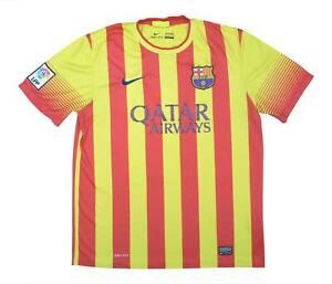 Barcelona 2013-14 ORIGINALE AWAY SHIRT (BUONO) L soccer jersey