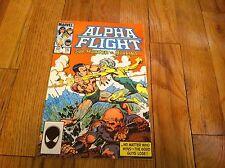 ALPHA FLIGHT #15 Comic Book SUB-MARINER Vs. MARRINA John Byrne 1984 SNOWBIRD old