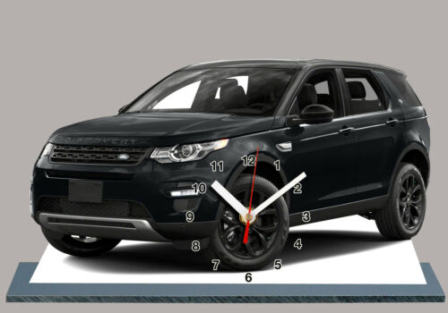 MODEL CARS LAND ROVER DISCOVERY SPORT,11,8x 7,8 inches and aluminium with Clock