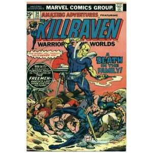 Amazing-Adventures-1970-series-34-in-Fine-condition-Marvel-comics-by