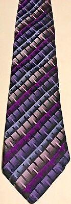 2019 Nuovo Stile Cravatta Uomo-westbury C&a - Larghezza 9cm-viola Con Motivo-alla Moda-mostra Il Titolo Originale