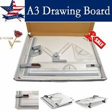 Pro Quality A3 Drawing Board Table With Parallel Motion and Adjustable Angle QP