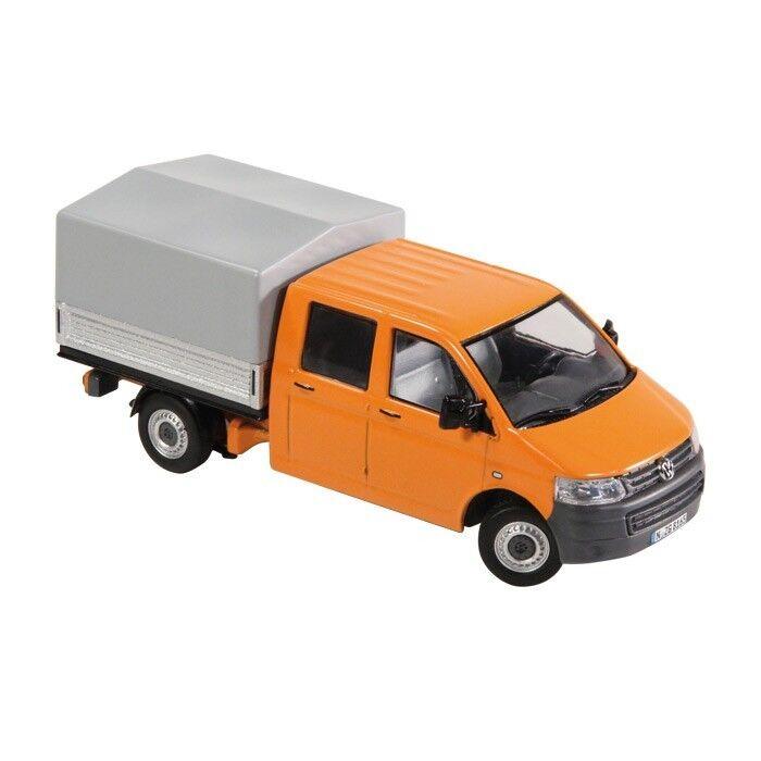 NZG Art.8881 65 VW Volkswagen T5 Double Cab Tarpaulin  orange  1 50