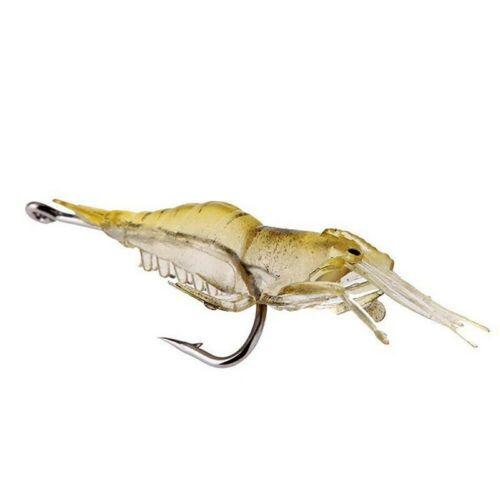 5 Pcs Lures Bait Shrimp Fishing Simulation Prawn Saltwater Hooks Fish Simulation