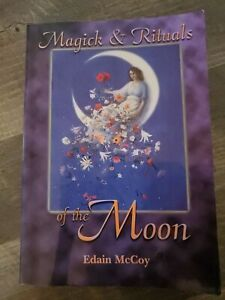 MAGICK-amp-RITUALS-OF-MOON-By-Edain-Mccoy-Excellent-Condition