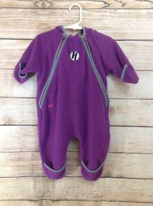 586fd4ba46f8 Double Diamond Sugarloaf Fleece Baby Bunting Snowsuit Size 12 Months ...