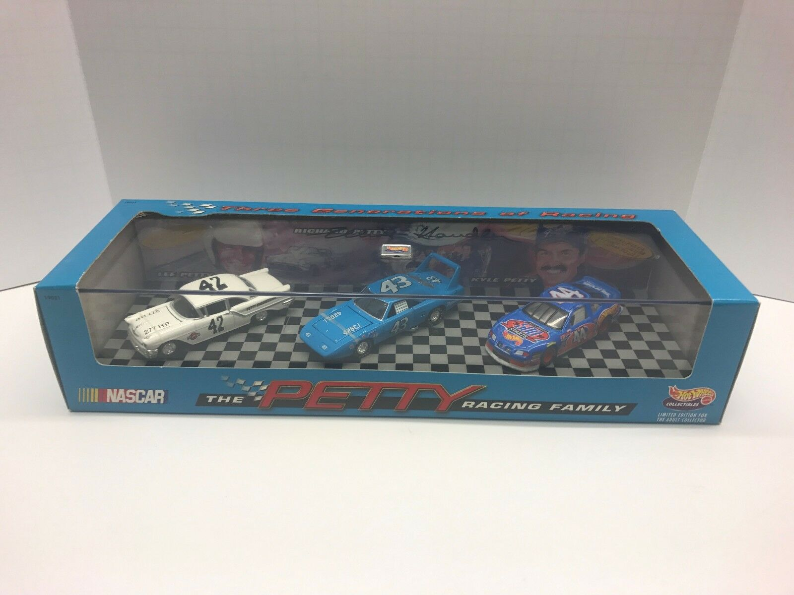 Signed By Hotwheels Inventor. The Petty Racing Family Set. (Please Read Add)